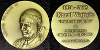 John Paul II 1978-2005 Portugal Medal 80mm Thumbnail