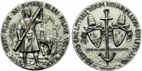 Paul VI 1966 Rerum Novarum Silver Medal Thumbnail