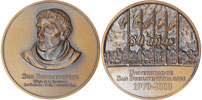 University St. Bonaventure 30th Ann. Medal 70mm Thumbnail