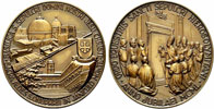Pius XII Order Holy Sepulchre Jerusalem Medal Thumbnail