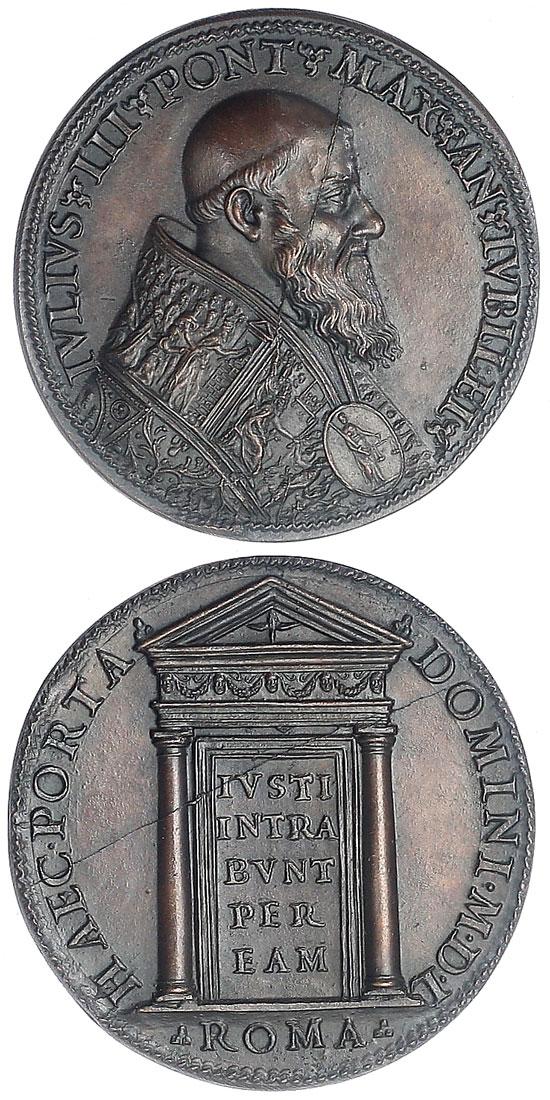 Julius III (1550-5) Holy Door 45mm Photo