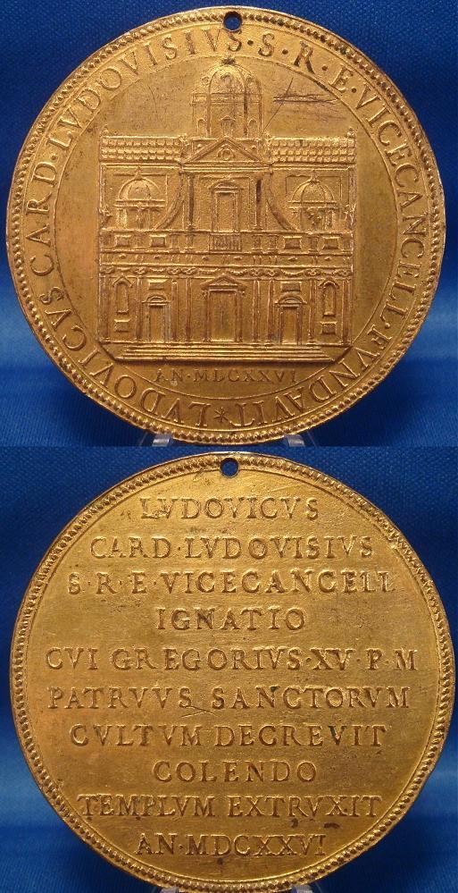 1626 Church Ignatius Loyola, Card. Ludovisi Photo