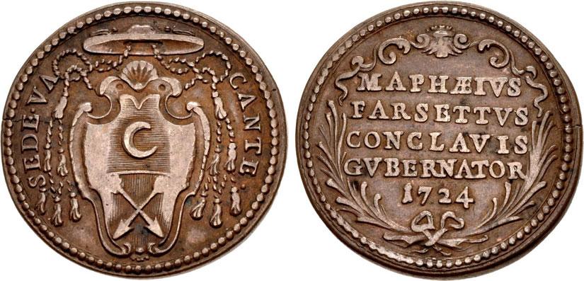 1724 Sede Vacante Msgr. Farsetti Photo