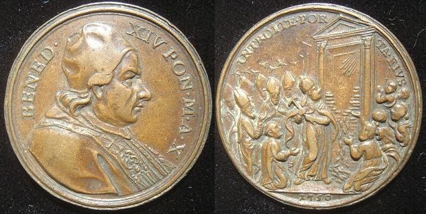 Benedict XIV (1740-58) 1750 Opening Holy Door Photo