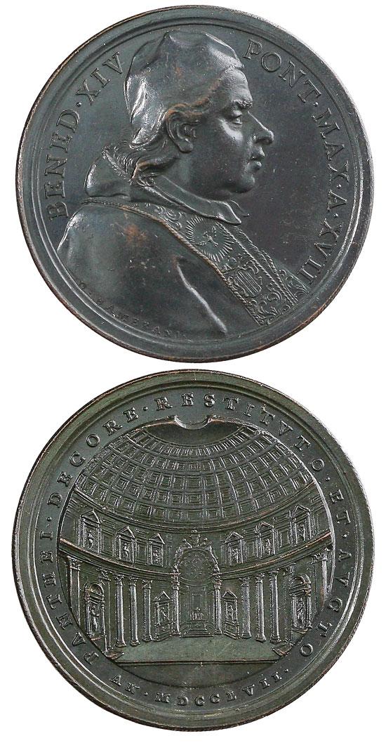Benedict XIV (1740-58) Pantheon Restoration Photo