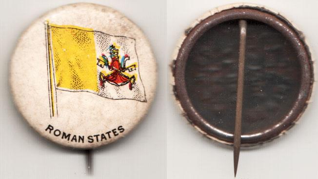 1896 Roman States Pin Photo