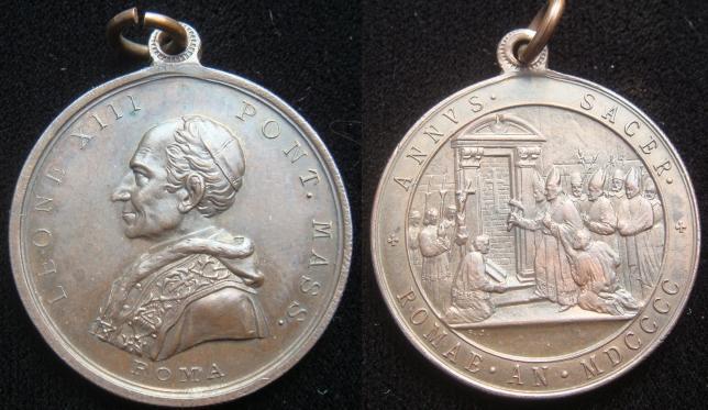 Leo XIII 1900 Opening of Holy Door Photo