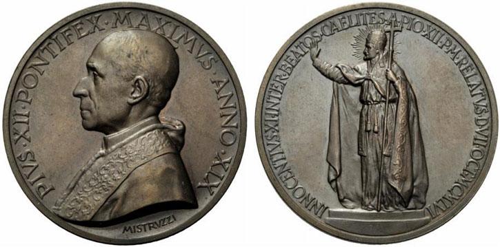 Pius XII (1939-58) Beatification of Innocent XI Photo