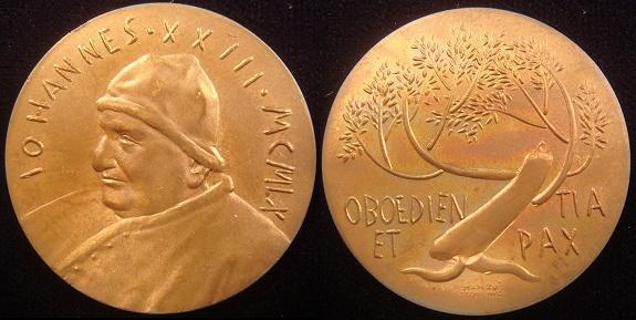 John XXIII 1960 Rome Olympics Bronze Medal Photo