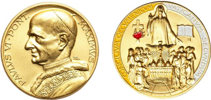 Paul VI Second Vatican Council Medal II Photo