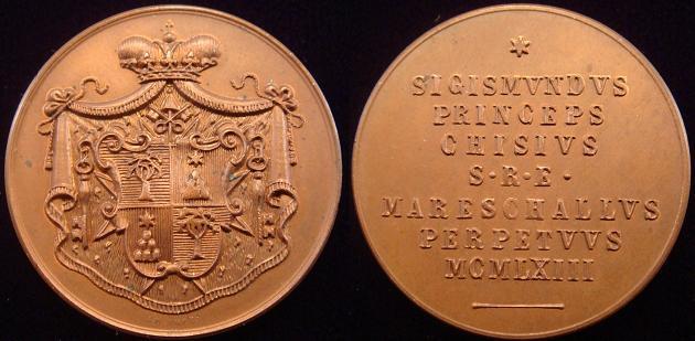 1963 Sede Vacante Marshall Sigismondo Medal Photo