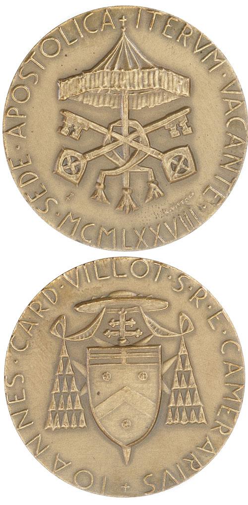 Sede Vacante 1978, September, Bronze Medal Photo