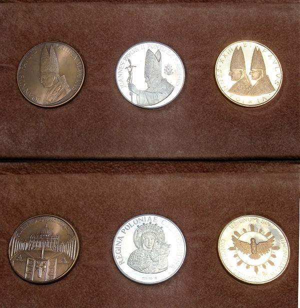 (1978) Gold, Silver & Bronze Medal Set Photo