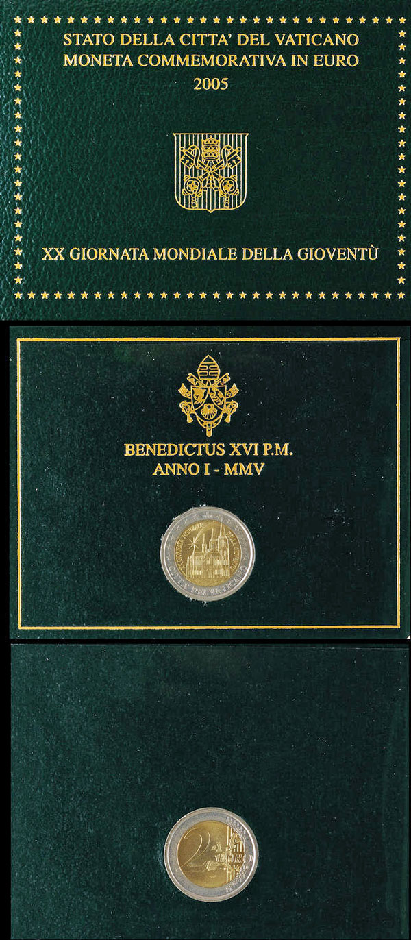 2005 Vatican 2 Euro Cologne Cathedral Photo