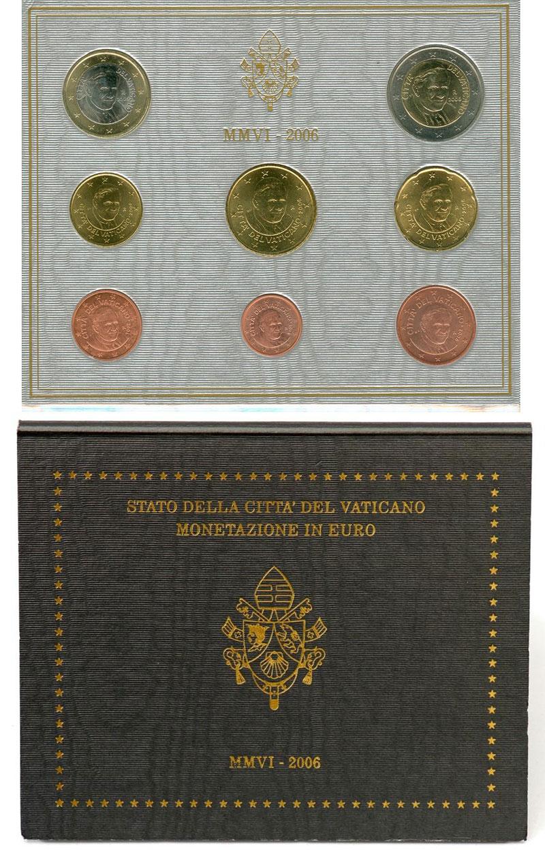 2006 Vatican Set, 1st Coin Set of Benedict XVI Photo