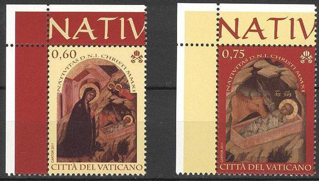 2011 Christmas Nativity Stamps Photo