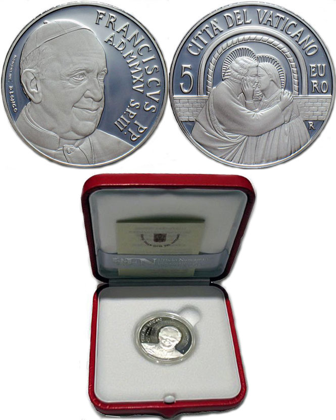 2015 Vatican 5 Euro Synod of Bishops Photo