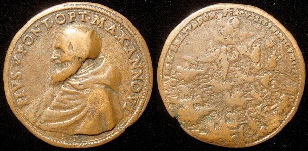 Pius V (1566-72) Battle of Lepanto 1571 Photo