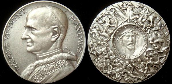 Paul VI Stations of the Cross Medal Photo