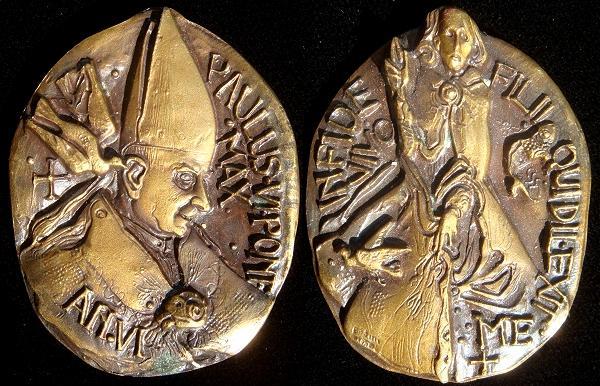Paul VI (1963-78) Anno VI Bronze Medal Photo