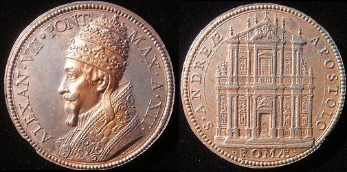 Alexander VII (1655-67) Sant'Andrea della Valle Photo