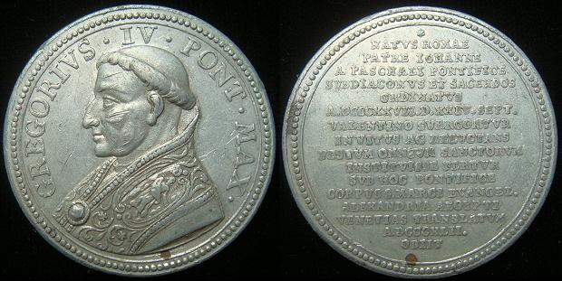 Gregory IV (827-44) Restitution Medal Photo