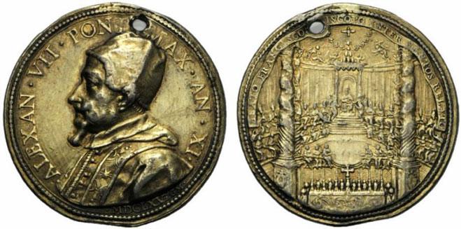 Alexander VII 1665 Canonization Francis de Sales Photo