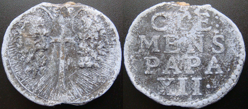 Clement XII (1730-1740) Papal Seal Photo