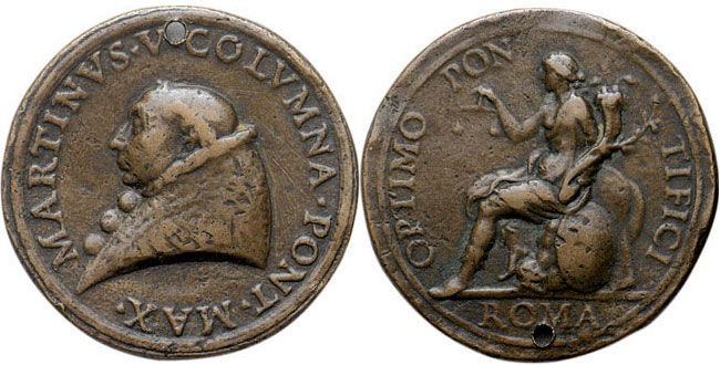 Martin V (1417-31) Rome: Abundance, Peace, Justice Photo