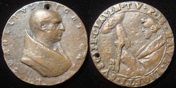 Cornelius (251-3) Old Cast Bronze Medal Photo