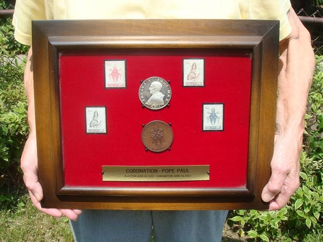 Election of Pope Paul VI Medals Photo