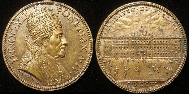 Innocent XII (1691-1700) A.IV ORIGINAL Photo