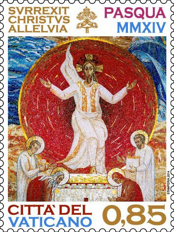2014 Vatican Stamp: Easter Photo