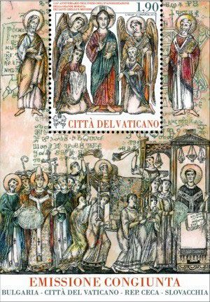 Evangelization Great Moravia Ss Cyril, Methodius Photo