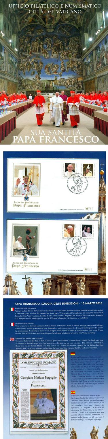 Beginning of Pontificate of Pope Francis Folder Photo