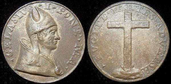 Gelasius I (492-6) Cast Bronze Restitution Medal Photo