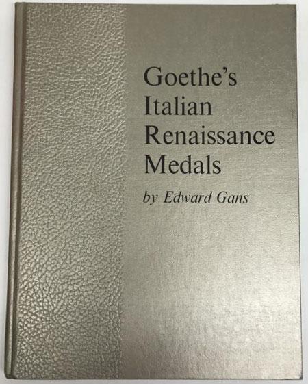 Goethe's Italian Renaissance Medals Photo