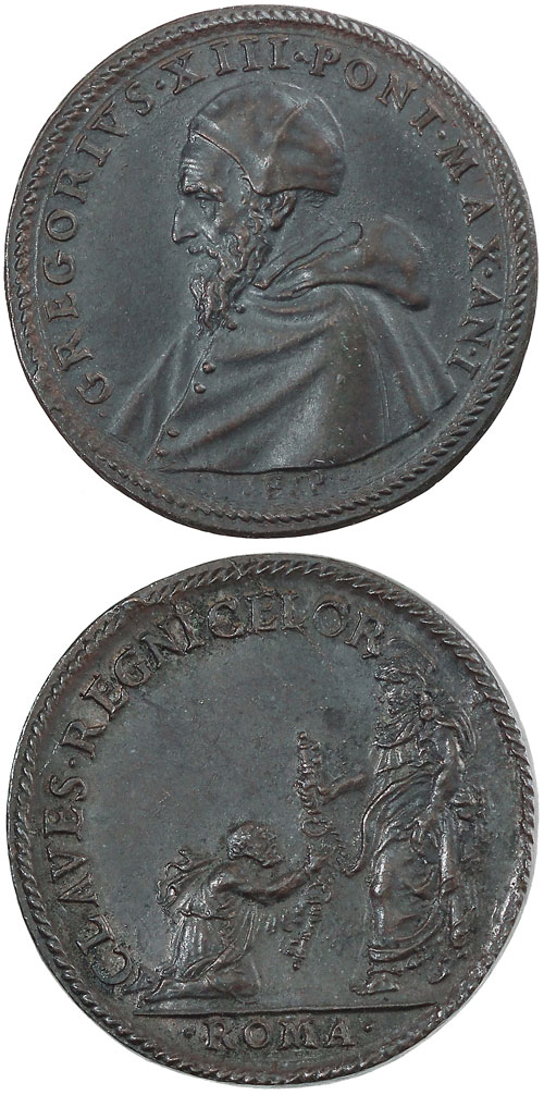 Gregory XIII (1572-85) Delivery of the Keys Photo