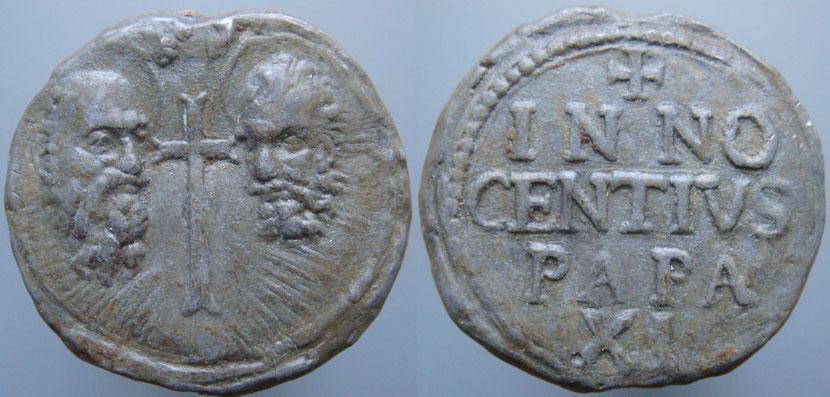 Innocent XI (1676-1689) Papal Seal Photo