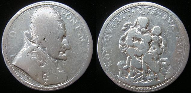 Innocent XI (1676-89) 1686 Silver Medal Photo