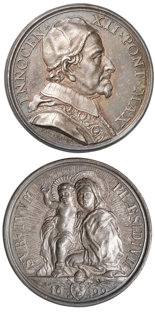 Innocent XII 1699 Silver Medal Photo