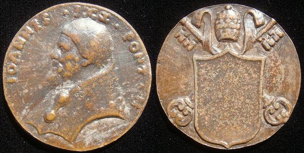 John XIX (1024-32) Cast Bronze Medal Photo