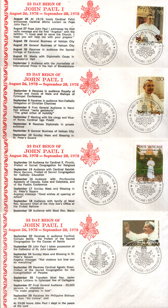 33 Day Reign of John Paul I Photo