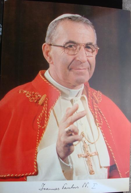 "John Paul I Large Photo 8"" x 12"" Photo"