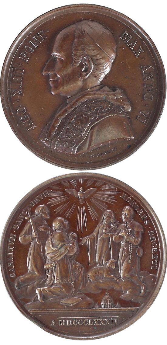 Leo XIII (1878-1903) A.V Canonization of 4 Saints Photo