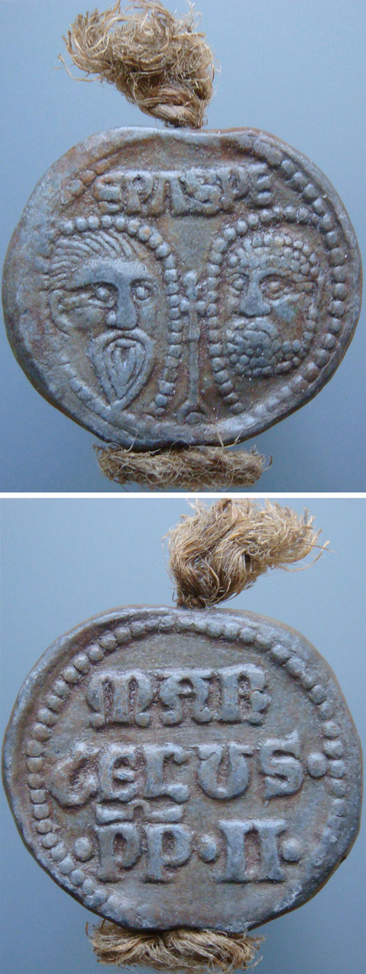 Marcellus II (1555) Papal Seal Photo