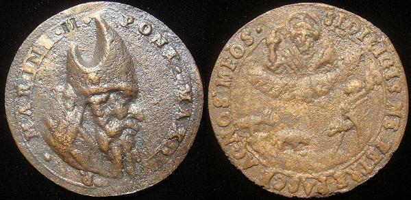 Marinus II (942-6) Cast Bronze Medal Photo