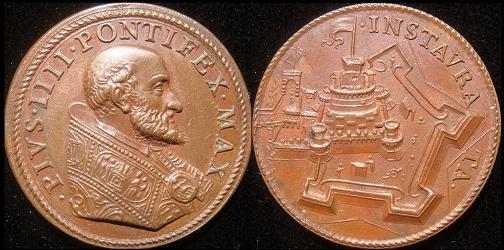 Pius IV (1559-65) Castle S. Angelo Photo