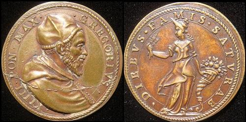 Gregory XIV (1590-1) Figure of Ceres Photo