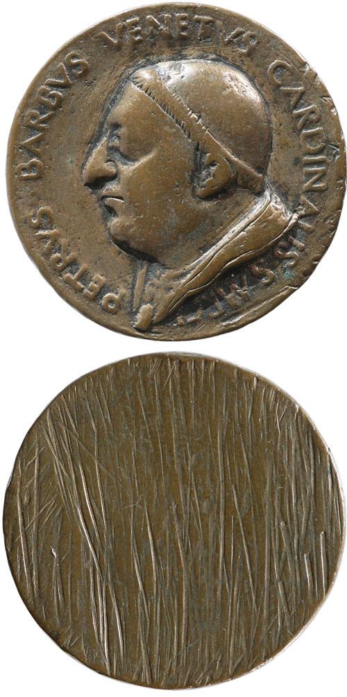 Paul II (1464-71) Card. Pietro Barbo Medal Photo